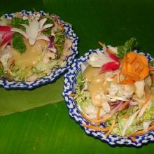 C5  C6 - Salades crevettes ou crabe
