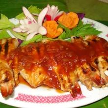 T20 - Brochettes crevettes porc
